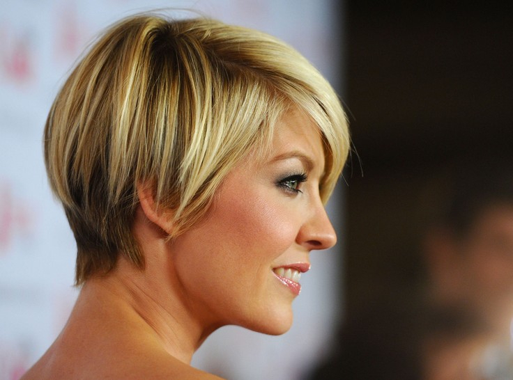 55 Super Hot Short Hairstyles 2017 – Layers, Cool Colors, Curls, Bangs Regarding Latest Uneven Layered Bob Hairstyles For Thick Hair (View 22 of 25)