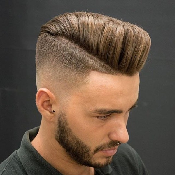 56 Cool Disconnected Undercut Hairstyles For Men Within High Mohawk Hairstyles With Side Undercut And Shaved Design (View 19 of 25)