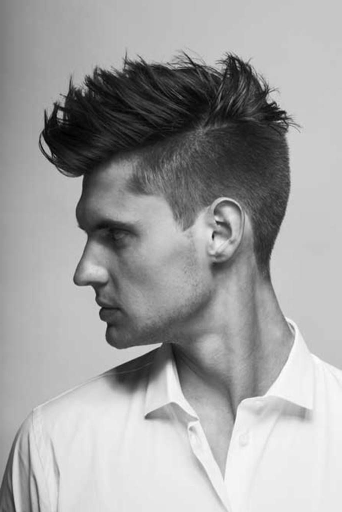 6 Killer Semi Mohawk Hairstyles For Men With Regard To Gelled Mohawk Hairstyles (View 8 of 25)