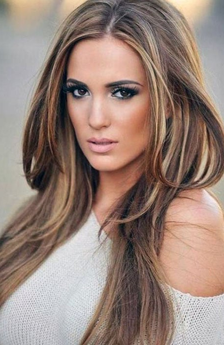 60 Best Brown Hair With Highlights Ideas – The Trend Spotter Within 2018 Medium Brown Tones Hairstyles With Subtle Highlights (Gallery 23 of 25)