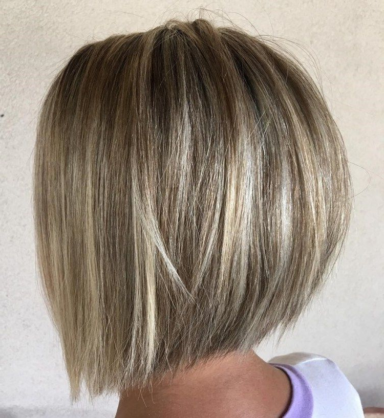 60 Best Short Bob Haircuts And Hairstyles For Women | Haircut Throughout Best And Newest Straight Rounded Lob Hairstyles With Chunky Razored Layers (Gallery 9 of 25)