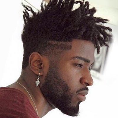60 Haircuts For Black Men In 2016 Men Hairstylist Intended For Braids And Twists Fauxhawk Hairstyles (View 9 of 25)