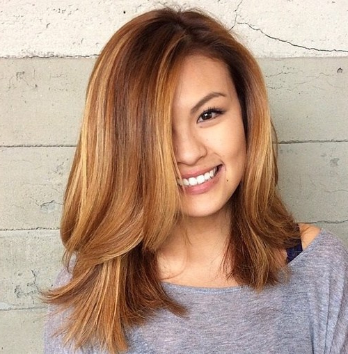 60 Most Beneficial Haircuts For Thick Hair Of Any Length – Page 2 Within Latest Two Tier Lob Hairstyles For Thick Hair (View 12 of 25)