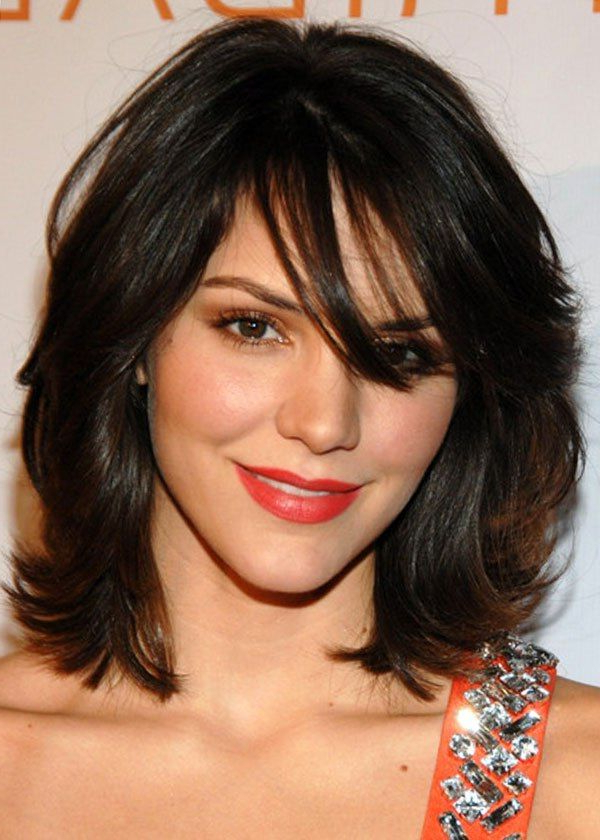 60+ Popular Shoulder Length Hairstyles For Most Recently Mid Length Haircuts With Curled Layers (Gallery 17 of 25)