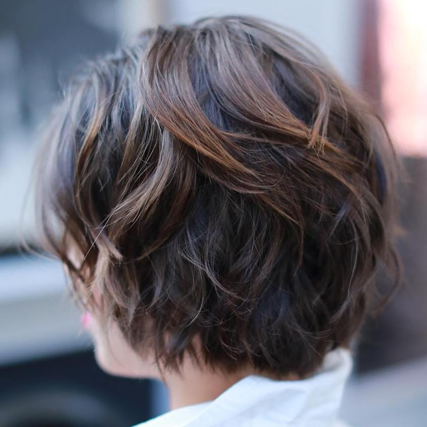 60 Short Shag Hairstyles That You Simply Can't Miss For Most Recent Brunette Messy Shag Hairstyles (Gallery 4 of 25)