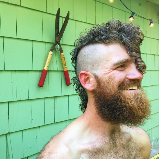 60 Stunning Curly Mohawk Designs – [2018 Bad Boy Style] Throughout Mohawk Hairstyles With Length And Frosted Tips (View 7 of 25)