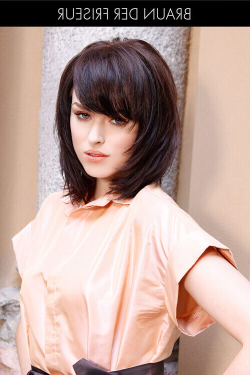 61 Chic Medium Shag Haircuts For 2019 In Recent Medium Feathered Haircuts For Thick Hair (Gallery 17 of 25)