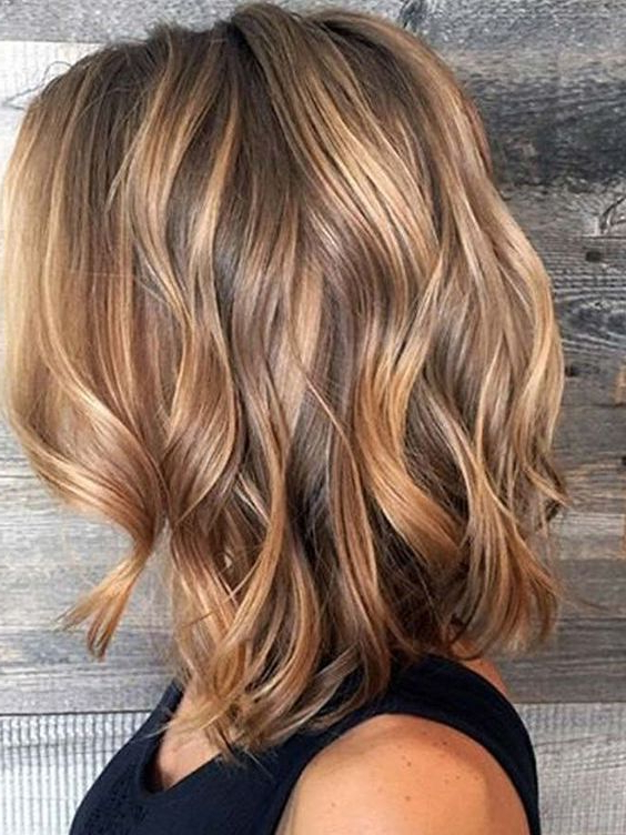 67 Blonde Balayage Hair Color Styles For Summer And Fall   Easy For Most Up To Date Brown And Blonde Feathers Hairstyles (Gallery 4 of 25)