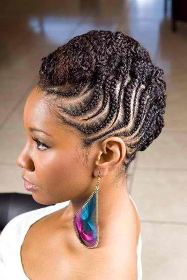 68 Inspiring Black Braid Hairstyles For Black Women – Style Easily Inside Mohawk Hairstyles With Multiple Braids (View 21 of 25)