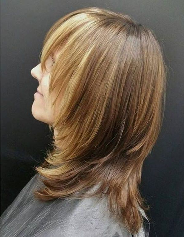 69 Gorgeous Ways To Make Layered Hair Pop Inside Best And Newest Layered Haircuts With Cropped Locks On The Crown (Gallery 15 of 25)