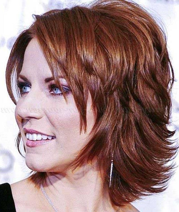 69 Gorgeous Ways To Make Layered Hair Pop Intended For Most Current Mid Length Haircuts With Side Layers (View 21 of 25)
