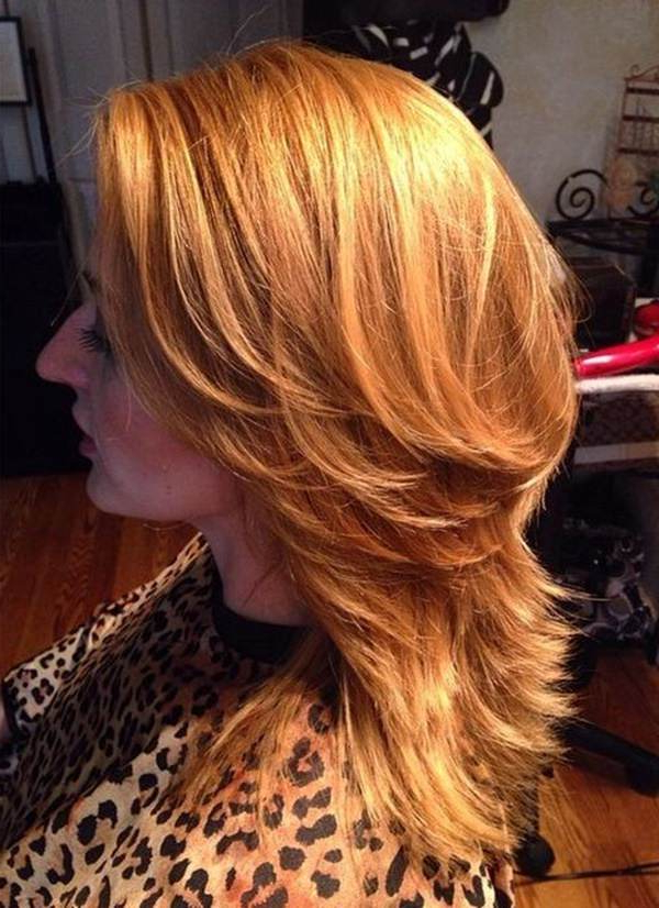 69 Gorgeous Ways To Make Layered Hair Pop Regarding Newest Medium Hairstyles With Layered Bottom (View 14 of 25)