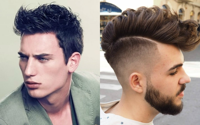 7 Best Faux Hawk Haircuts For Men In 2018 – The Trend Spotter Throughout Fauxhawk Hairstyles With Front Top Locks (View 5 of 25)