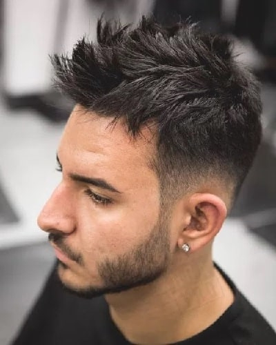 7 Faux Hawk Hairstyles For Boys To Steal The Limelight For Messy Fishtail Faux Hawk Hairstyles (View 12 of 25)
