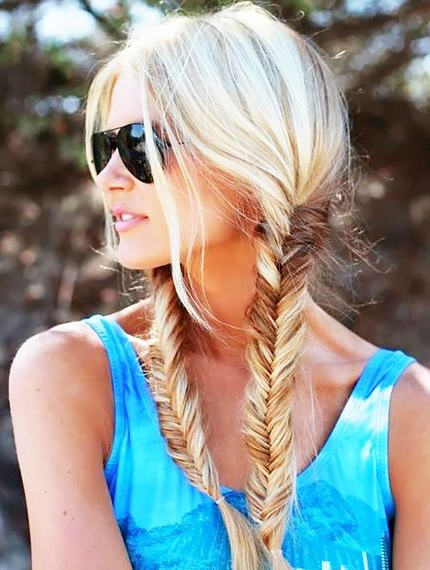 7 Heat Free Hairstyles To Try This Summer | Byrdie Uk Regarding Most Current Heat Free Layered Hairstyles (View 11 of 25)