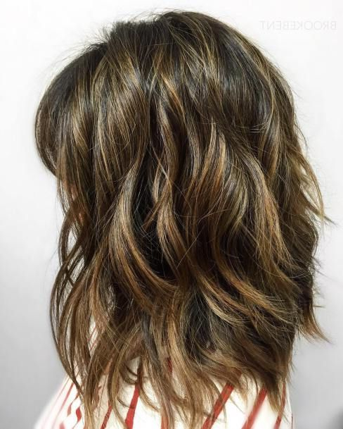 70 Brightest Medium Layered Haircuts To Light You Up | Hair Intended For Most Popular Voluminous Wavy Layered Hairstyles With Bangs (Gallery 7 of 25)