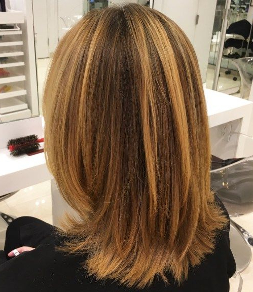 70 Brightest Medium Layered Haircuts To Light You Up In 2018 | Hair In Most Popular Shoulder Length Haircuts With Jagged Ends (Gallery 1 of 25)