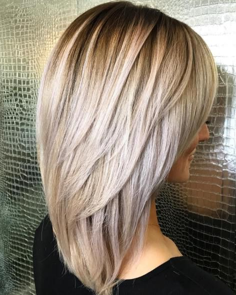 Featured Photo of Elongated Layered Haircuts For Straight Hair