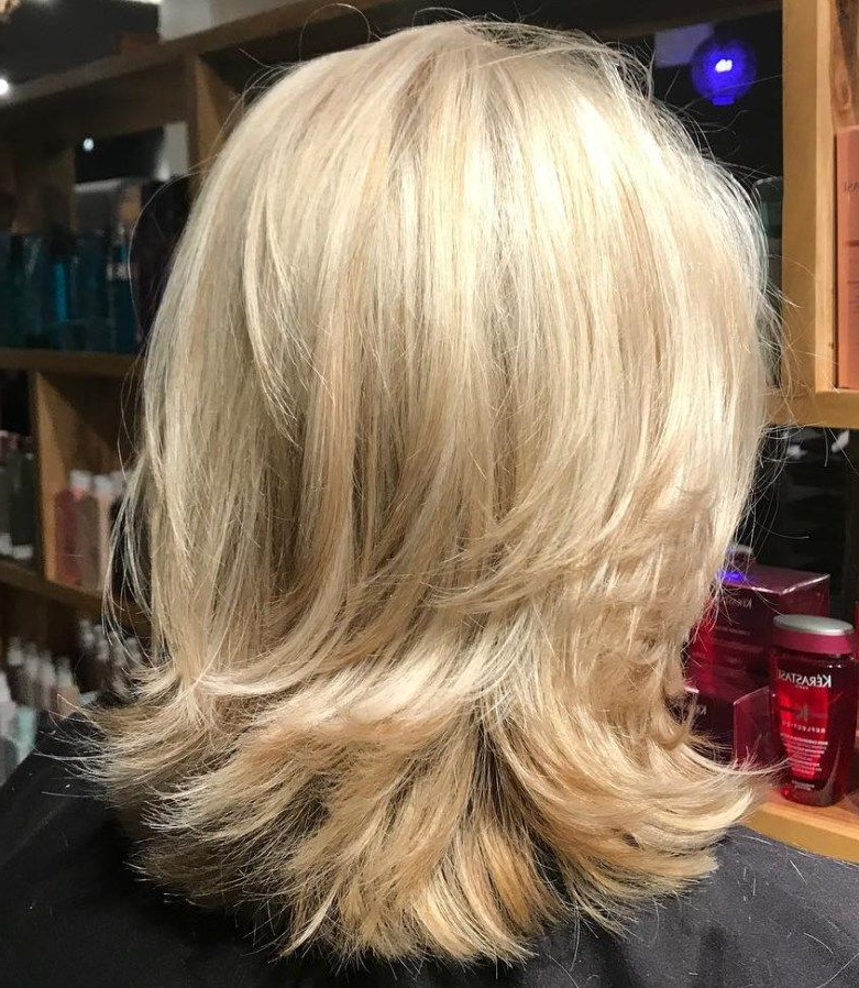 70 Brightest Medium Layered Haircuts To Light You Up | Medium Intended For Latest Medium Hairstyles With Layered Bottom (Gallery 1 of 25)