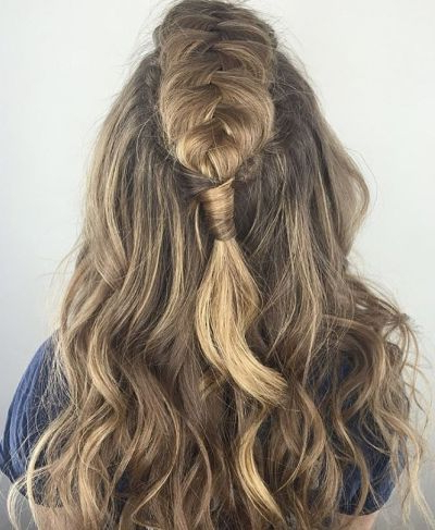 70+ Cute French Braid Hairstyles When You Want To Try Something New For Messy Fishtail Faux Hawk Hairstyles (View 24 of 25)