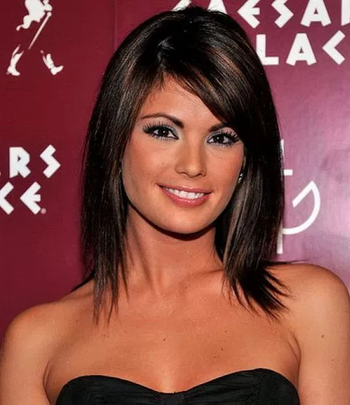 70 Light Medium Layered Haircuts | Page 70 pertaining to Most Recent Straight Layered Tresses In A-Line Hairstyles