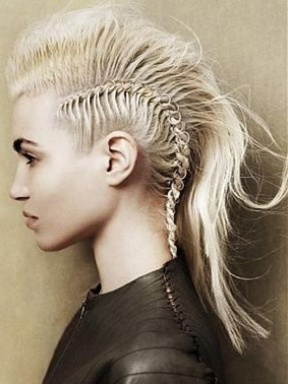 70 Most Gorgeous Mohawk Hairstyles Of Nowadays | Hair 2 | Pinterest Pertaining To Thrilling Fauxhawk Hairstyles (Gallery 4 of 25)