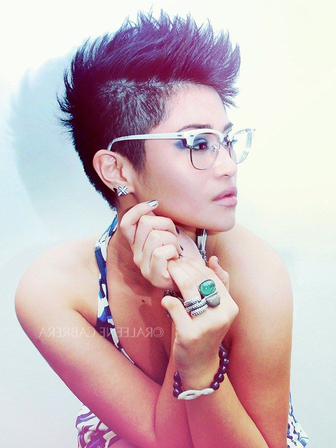 70 Most Gorgeous Mohawk Hairstyles Of Nowadays | Hair Inspiration With Regard To Spikey Mohawk Hairstyles (View 22 of 25)