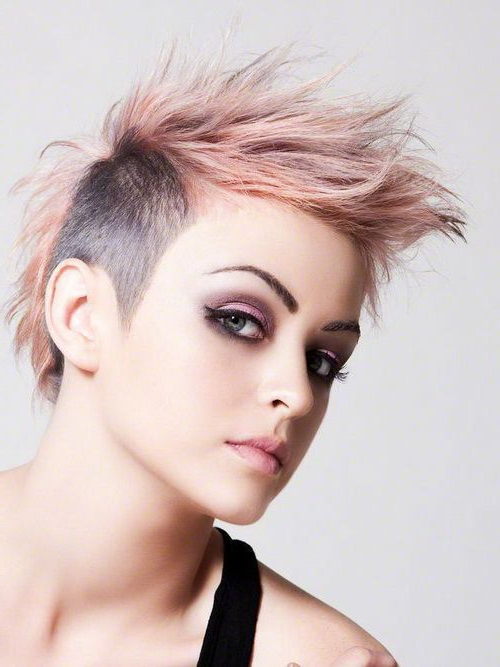 70 Most Gorgeous Mohawk Hairstyles Of Nowadays | Hairstyles Intended For Funky Pink Mohawk Hairstyles (Gallery 1 of 25)