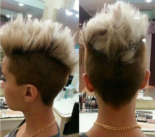 70 Most Gorgeous Mohawk Hairstyles Of Nowadays | Hairstyles Regarding Soft Spiked Mohawk Hairstyles (Gallery 1 of 25)