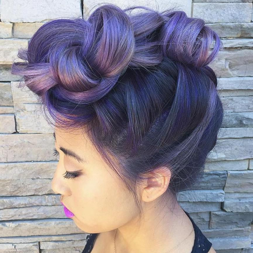 70 Most Gorgeous Mohawk Hairstyles Of Nowadays In 2018 | Hair Pertaining To Mini Braided Babe Mohawk Hairstyles (View 7 of 25)