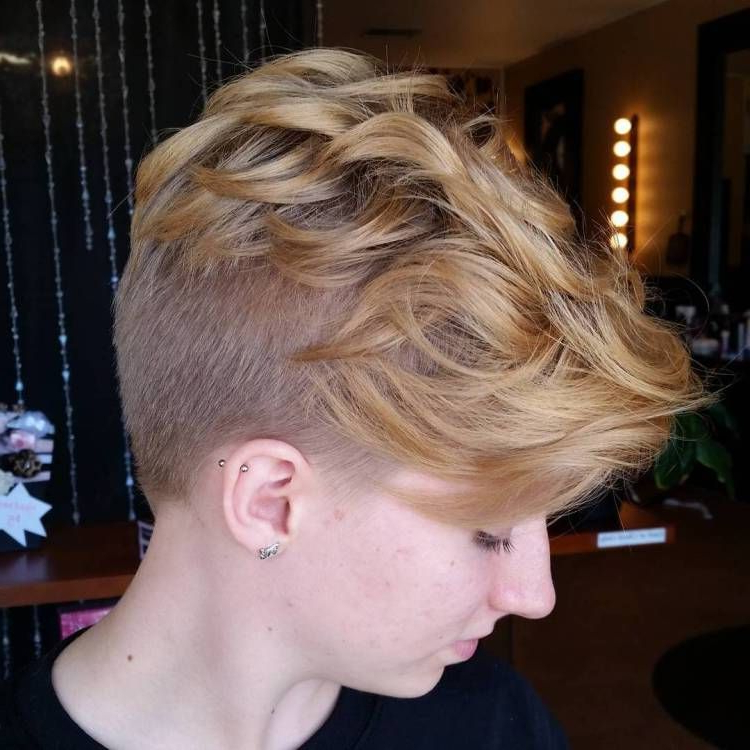 Featured Photo of Bed Head Honey Mohawk Hairstyles