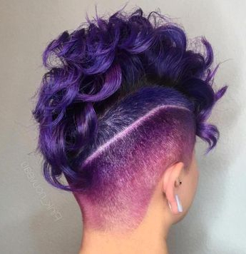 70 Most Gorgeous Mohawk Hairstyles Of Nowadays Intended For Heartbeat Babe Mohawk Hairstyles (Gallery 18 of 25)