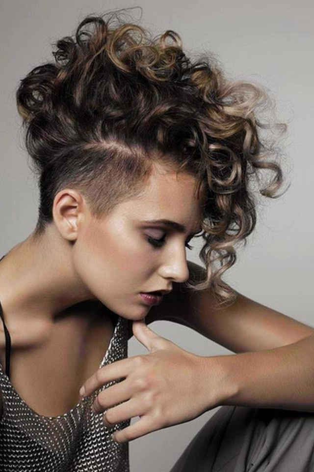 70 Most Gorgeous Mohawk Hairstyles Of Nowadays | Short Hair Within Long And Lovely Mohawk Hairstyles (View 20 of 25)