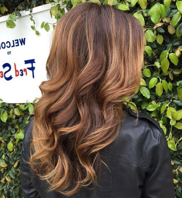 75 Of The Most Incredible Hairstyles With Caramel Highlights In 2018 Medium Brown Tones Hairstyles With Subtle Highlights (Gallery 15 of 25)