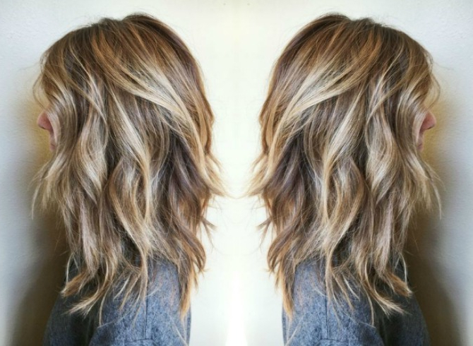8 Blonde Balayage Hairstyles Every Girl Needs To Try | Style Elixir Pertaining To Most Recent Two Tier Caramel Blonde Lob Hairstyles (Gallery 12 of 25)