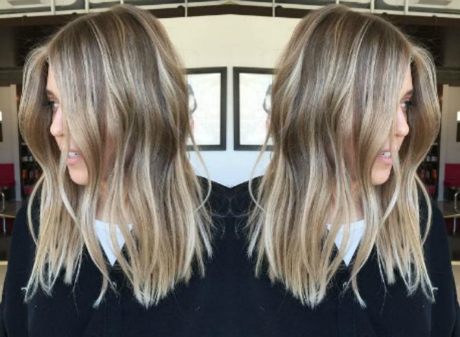 8 Blonde Balayage Hairstyles Every Girl Needs To Try | Style Elixir With Most Recent Two Tier Caramel Blonde Lob Hairstyles (Gallery 17 of 25)