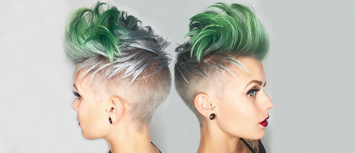 8 Extravagant Looks With A Pompadour Haircut | Lovehairstyles In Extravagant Purple Mohawk Hairstyles (View 12 of 25)