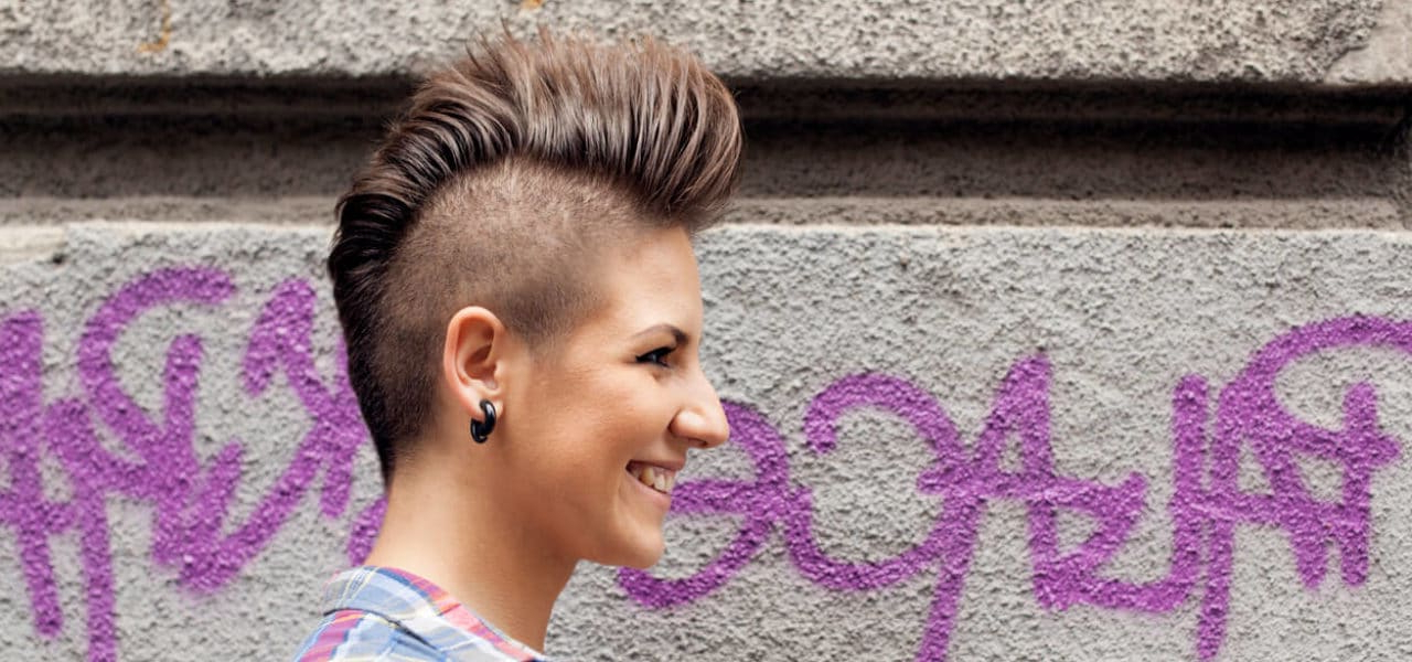 8 Fashionable Mohawk Hairstyles For Women: From Haute To Head Turning For Bed Head Honey Mohawk Hairstyles (View 12 of 25)