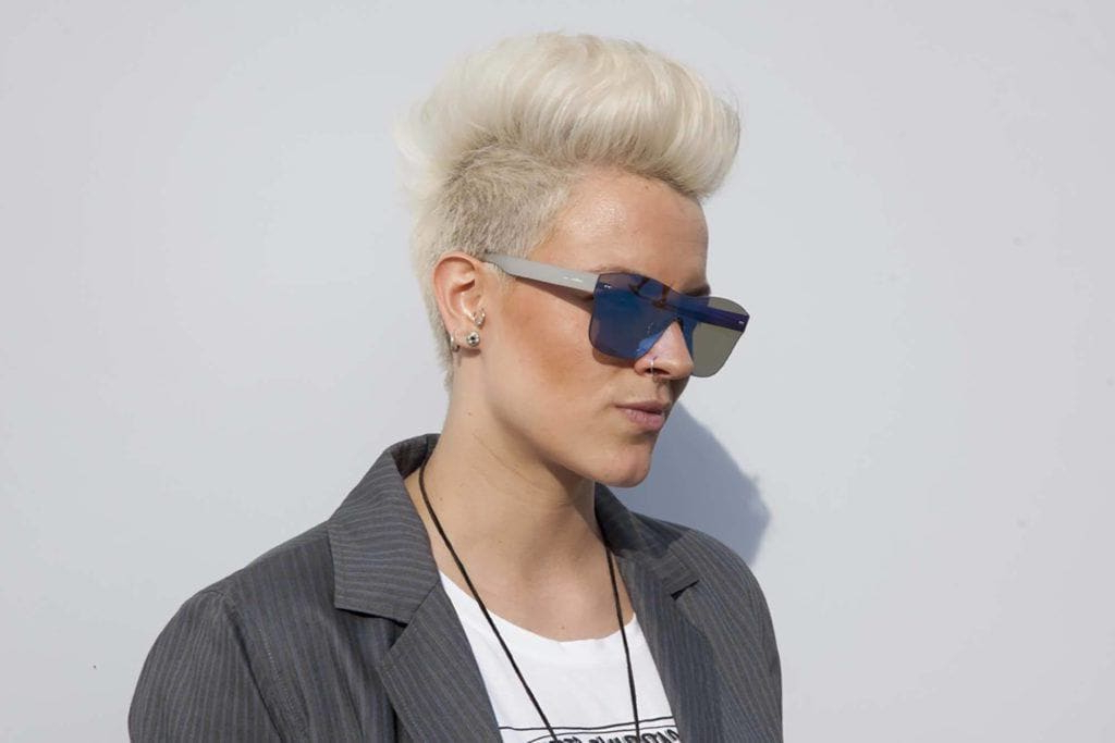 8 Fashionable Mohawk Hairstyles For Women: From Haute To Head Turning Throughout Bed Head Honey Mohawk Hairstyles (View 8 of 25)