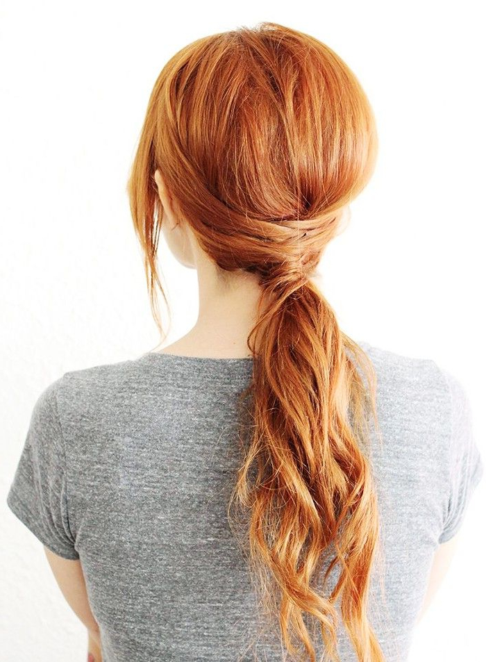8 Quick And Easy Hairstyles (No Heat Required) | Byrdie Throughout Most Current Heat Free Layered Hairstyles (Gallery 15 of 25)