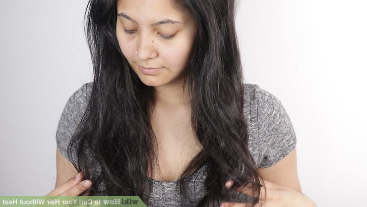 8 Ways To Curl Your Hair Without Heat – Wikihow With Regard To Most Up To Date Heat Free Layered Hairstyles (Gallery 23 of 25)