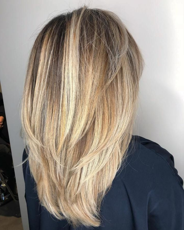 80 Cute Layered Hairstyles And Cuts For Long Hair In 2018 | Hair Intended For Best And Newest V Cut Layers Hairstyles For Thick Hair (Gallery 4 of 25)