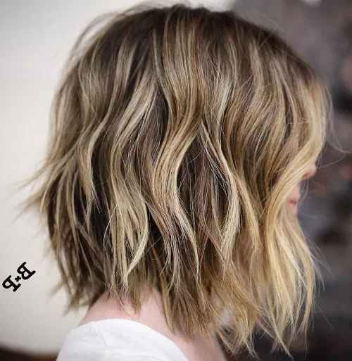 80 Medium Length Haircuts For Thick Hair That You'll Love – Page 58 For Most Current V Cut Layers Hairstyles For Thick Hair (Gallery 20 of 25)