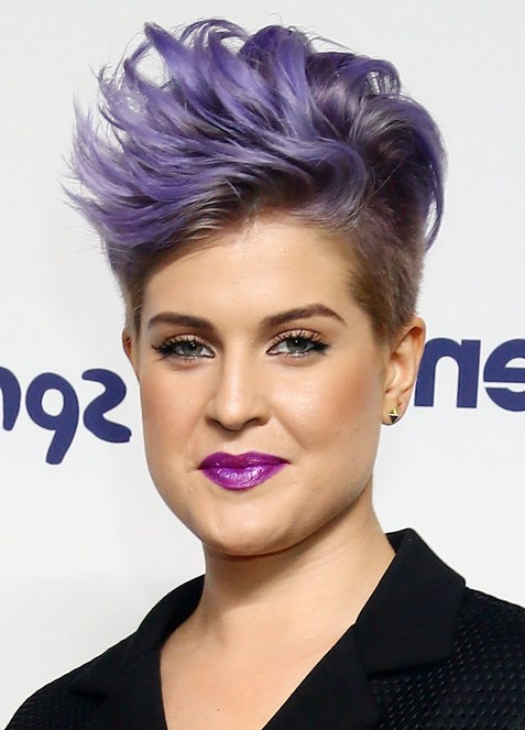 80 Popular Short Hairstyles For Women 2019 - Pretty Designs inside Lavender Ombre Mohawk Hairstyles