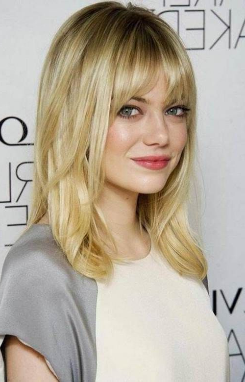 80 Sensational Medium Length Haircuts For Thick Hair | Beauty In Most Popular Layered Haircuts With Cropped Locks On The Crown (Gallery 2 of 25)
