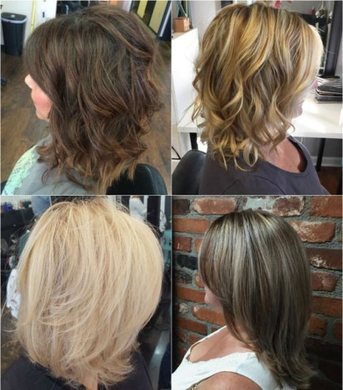 80 Sensational Medium Length Haircuts For Thick Hair | Hairstyle In Most Recent Medium Feathered Haircuts For Thick Hair (Gallery 4 of 25)