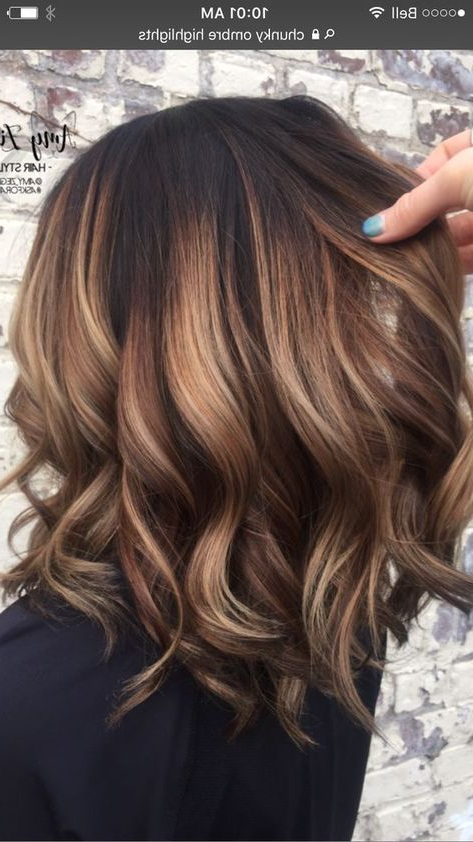 81 Brown Blonde Ombre Hair Color Hairstyles | Hair Ideas | Pinterest Throughout Most Recent Brown And Blonde Feathers Hairstyles (Gallery 7 of 25)