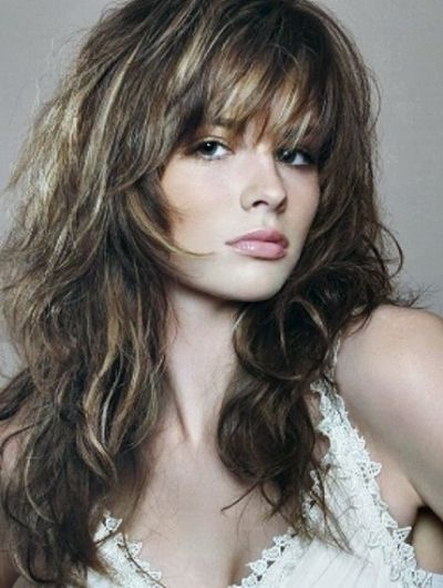 83 Latest Layered Hairstyles For Short, Medium And Long Hair Inside Newest Voluminous Wavy Layered Hairstyles With Bangs (Gallery 2 of 25)