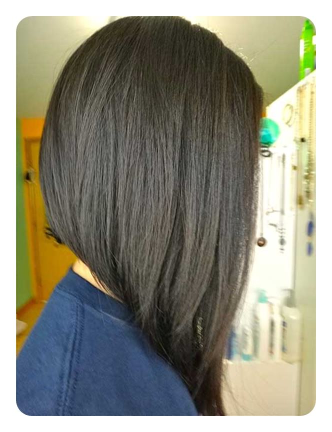 92 Layered Inverted Bob Hairstyles That You Should Try – Style Easily For Most Current Long Angled Bob Hairstyles With Chopped Layers (View 18 of 25)