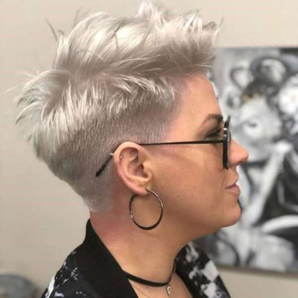 99 Stunning Silver Fox Hairstyles With Regard To Stunning Silver Mohawk Hairstyles (View 12 of 25)